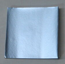 Dull Light Blue Candy Foil Wrappers Confectionery Foil 125 count FD31