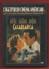 DVD - CASABLANCA avec Humphrey Bogart, Ingrid Bergman et Paul Henreid