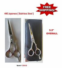 BARBER HAIR CUTTING SCISSORS SHEARS ( JAPANESS STAINLESS STEEL )
