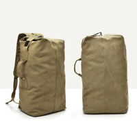 Camping Backpack Canvas Tactical camping hiking bag Outdoor Large capacity