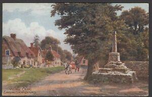 GARSINGTON,  Village Cross,  Oxfordshire  -  Unposted - Ref:403
