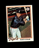 Rusty Staub Hand Signed 1978 Topps Detroit Tigers Autograph