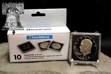 5 Peace Silver Dollar 2x2 Coin Snaplock Capsule 38mm LIGHTHOUSE QUADRUM Case