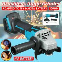 800W Sans fil Brushless Meuleuse d'angle 100mm Pour Makita 18V Li-Ion Batterie