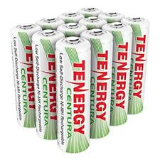 Tenergy 12pcs Centura AA 2000mAh Low Self Discharge NiMH Rechargeables Batteries