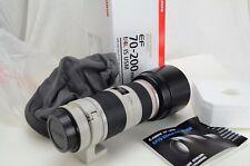 Canon EF 70-200 f/4 L IS USM, neuf dans sa boîte