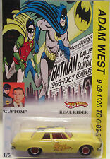 Hot Wheels SU MISURA '63 Plymouth Belvedere batman-adam WEST omaggio RR 1/5