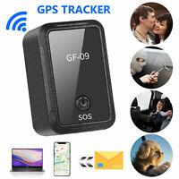 GF09 Mini Magnetic GPS Tracker Real-time Car Truck Vehicle Locator GSM GPRS USA