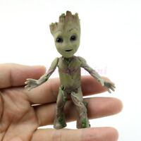 "Cute 3.5"" Guardians of The Galaxy Vol 2 Baby Standing Groot Figure Toy Xmas Gift"