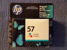 HP 57 Tri-Color Ink Cartridge C6657AN New in Box Warranty AUG 2022