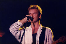STING • 30 CONCERT PHOTOS from the late 1980s • LIVE IN GERMANY • all close-ups!