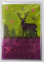 3D Weihnachtskarte - Klappkarte  Weihnachten - Grußkarten - Merry Christmas