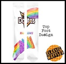 63952d858c90ec Doritos #4 Rainbows Tube Socks Knee High Socks