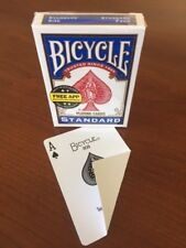 1 DECK Bicycle STANDARD FACE-BLANK BACK gaff magic playing cards