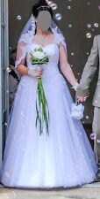 Brautkleid Brautlebel Stella Gr.42 gebraucht/professionell gereinigt neuwertig
