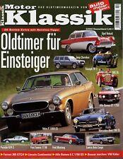 1 Motor Klassik 2003 2/03 Volvo P 1800 Audi 60 VW Käfer Lincoln Continental Auto