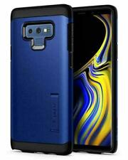 Galaxy Note 9 Case, Spigen Tough Armor Shockproof Protective Cover - Blue