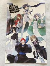 """IS IT WRONG TO PICK UP GIRLS IN A DUNGEON - 11""""x17"""" Original Book Promo Poster"""