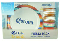 Corona Fiesta Pack 12 Plates 12 Cups 12 Napkins Party Supply Beach Pic Nic