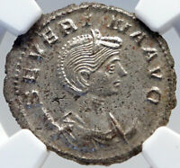 SEVERINA wife of AURELIAN Authentic Ancient 275AD Roman Coin NGC MS i82600