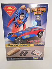 Revell Pinewood Derby Superman Racer Series Kit Complete Official Boy Scouts
