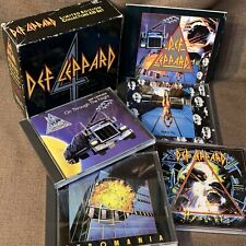 DEF LEPPARD 4 Great Box JAPAN-ONLY 4CD BOX w/73p BOOKLET PHCR-3101~04 Free S&H