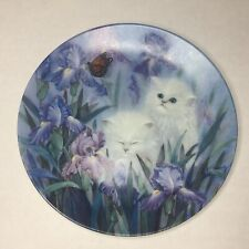 Petal Pals Garden Discovery 92 Lily Chang Kitten Cat Bradford Collector Plate