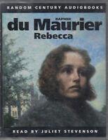 Rebecca Daphne Du Maurier 2 Cassette Audio Book Juliet Stevenson FASTPOST