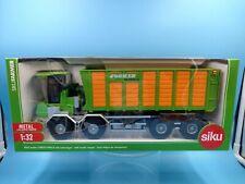 neuf jouet camion tracteur siku metal 1/32 joskin silospace farmer 4064