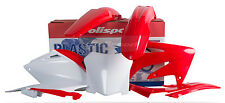 POLISPORT KIT CRF250R 2008 RED W/ WHITE NUMBER PLATE PART# 90142 NEW