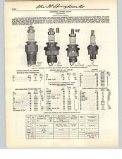 1941 PAPER AD 11 PG Champion Spark Plugs Super Sales Plug Cleaner Charts Specs