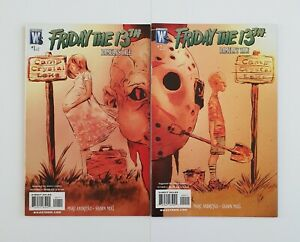 Friday The 13th Pamela's Tale Comic Book Set Wildstorm 2007 Horror