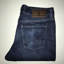 Mens Dark Blue Vintage Tommy Hilfiger Regular fit Jeans Size 31 Waist 34 Leg