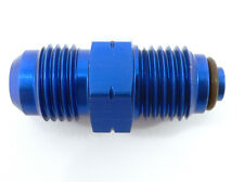 PRE-446439A  -6 AN Male To 14mm x 1.5 O-Ring Fuel & Power Steering Fitting Blue