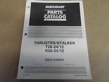 1991 Quicksilver Parts Catalog Accessories T28-24/12 R28-24/12 Oem 90-18562