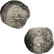 Serbien Stefan Uros IV Dusan Dinar Grosso Zar Thron Schwert Jovanovic 11.9 var.