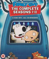 Family Guy, Staffeln 1+2+3+4+5+6+7+8+9+10+11, Komplette Serie,31 DVDs ,NEU & OVP