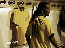 RONALDINHO JOGA BONITO POSTER FC BARCELONA BRAZIL