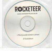 (EH654) Rocketeer, The Cowardly Soldier's Lament - DJ CD