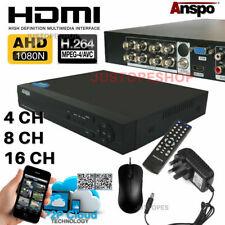 More details for 8/4ch 16ch cctv dvr digital video recorder ahd 1080n hd hdmi bnc security system