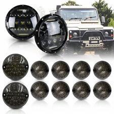 Land Rover Defender 90 110 Led Style Headlight Rear Front Indicator Lights 12pcs