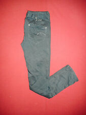 G-Star Raw Skinny Fit - Waist 32 Leg 36 - Mens Green Canvas Jeans - B23
