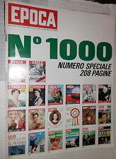 EPOCA N 1000 23 novembre 1969 Numero speciale Inchiesta anni 70 Nixon Forlani