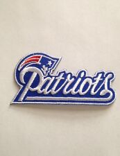 "New England Patriots Jersey Patch 3.75"" Gillette Stadium Iron On Sew On Jacket"