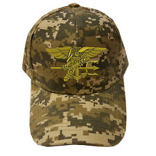 DIGITAL CAMO CAMOUFLAGE U.S. NAVYSEAL NAVY SEAL LOGO Military Cap Hat
