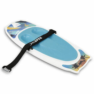 Xspec Kneeboard with Hook for Knee Surfing Boating Waterboarding, White