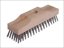 Broom Head  Wooden Stock 6 Row 220mm x 60mm - Wire / Scratch Brushes - LES148101