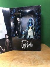 "McFarlane Toys ""Tim Burton's Corpse Bride"" Commemorative 2 pack figures RARE"