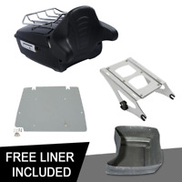 King Pack Trunk Rack Plate For Harley Davidson Tour Pak Street Road Glide 14-20