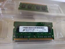 Micron 4GB (2x2GB) PC3-12800s DDR3-1600MHz 1Rx8 Laptop Ram Memory